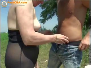 Sewing granny jumps on his cock 6
